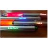 Golyóstoll színes LED-el NARANCS