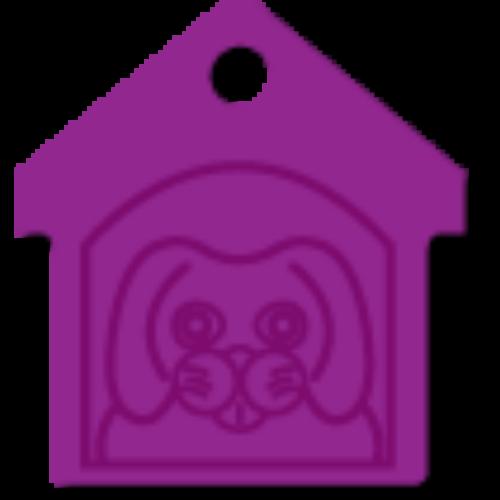 Házikó lila