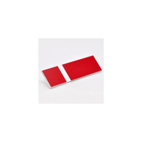 2-plex 1,6  Matt piros / fehér