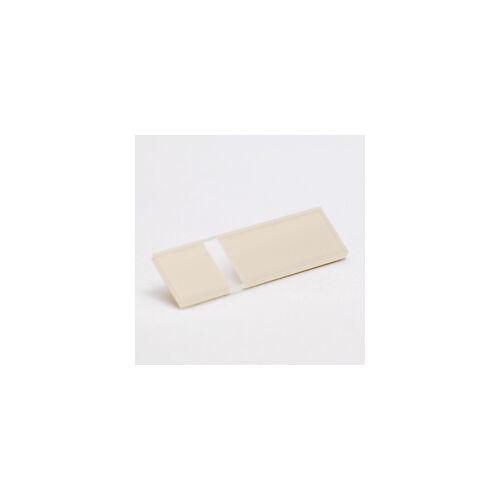 2-plex 3,2  Fényes átlátszó / mandula színű