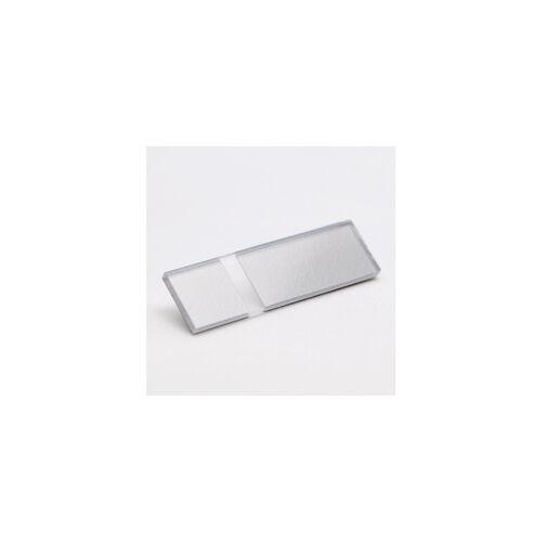 2-plex 1,6  Fényes átlátszó / ezüst
