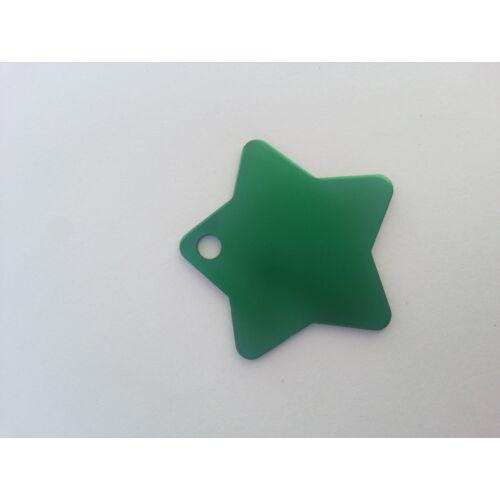 Nagy csillag zöld