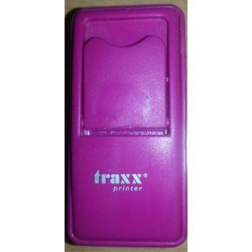 Traxx 52050 lila zsebbélyegző