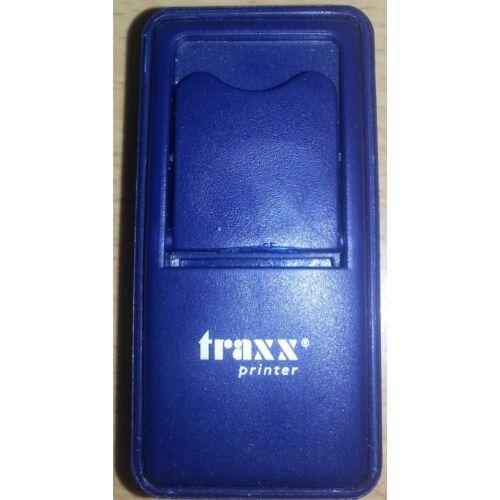 Traxx 52050 kék zsebbélyegző