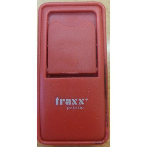 Traxx 52050 piros  zsebbélyegző