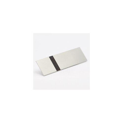 Alumamark (Alumilaz) 0,127 mm szatinált ezüst / fekete