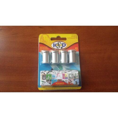 Fisso Midi  matt ezüst (4 db)
