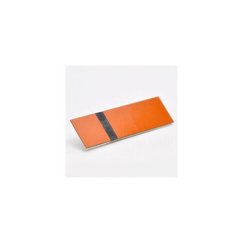 Gravofoil 0,2mm  narancs / fekete (725)