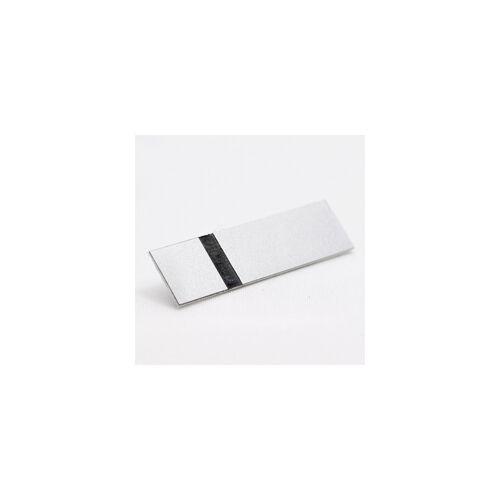 Gravofoil 0,2mm  ezüst / fekete (736)