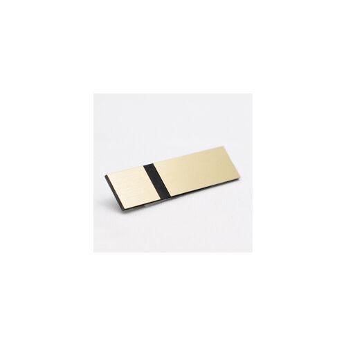 Laser Ext  Metallics 3,0 mm matt szálrahúzott arany / fekete