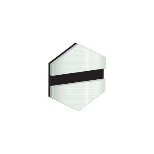 ÚJ!!! Gravolase Metallics 1,6 mm  fényes alumínium / fekete