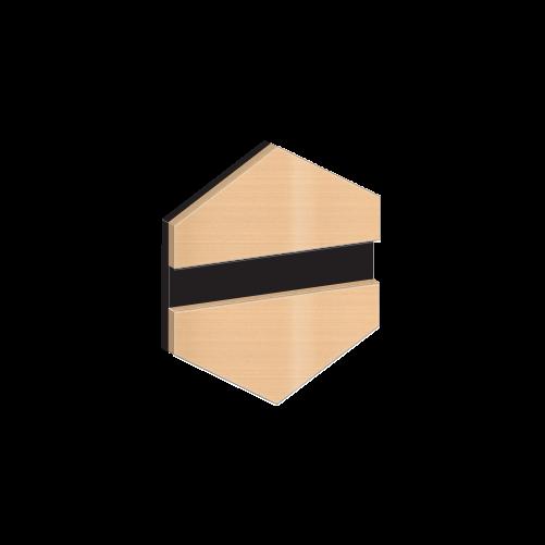 Gravolase Metallics 0,5 mm fényes óarany / fekete