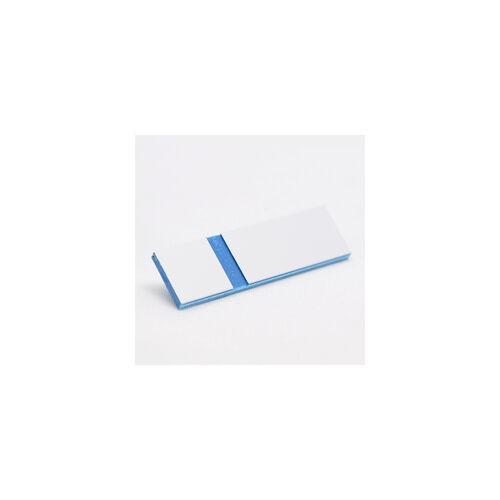 Gravoply Laser 0,8 mm fehér / kék  (362)