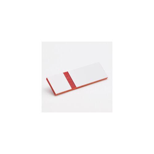 Gravoply Laser 0,8 mm fehér / piros  (380)