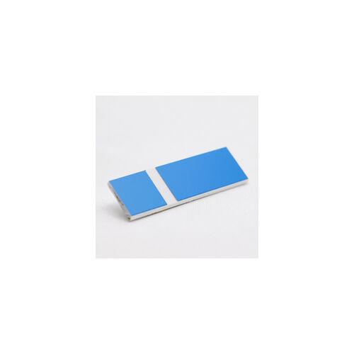 Gravoply Laser 1,6 mm világoskék / fehér (384)