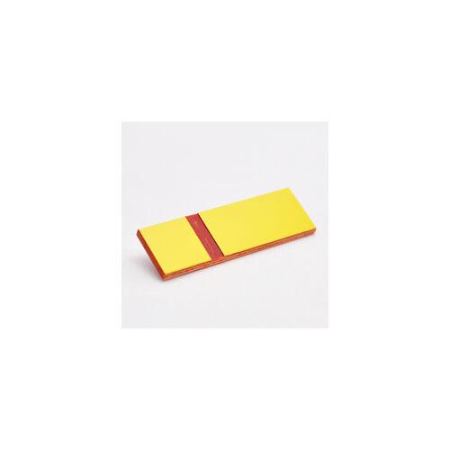 Gravoply Laser 1,3 mm  sárga / piros (366)