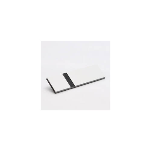 Gravostrat 1,0mm fehér/ fekete (512) ( Phenolic)