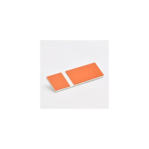 Gravoply Laser 1,3 mm  narancs / fehér  (388)