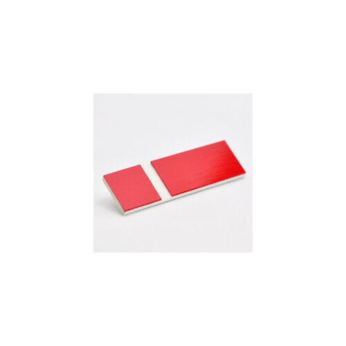 GRAVOPLY ULTRA (Gravolase) szatinált 1,6 mm piros / fehér