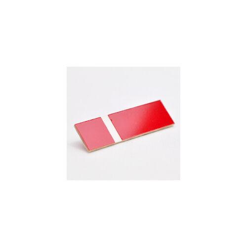 Gravostrat 2,5 mm piros / fehér ( 513) ( Phenolic)