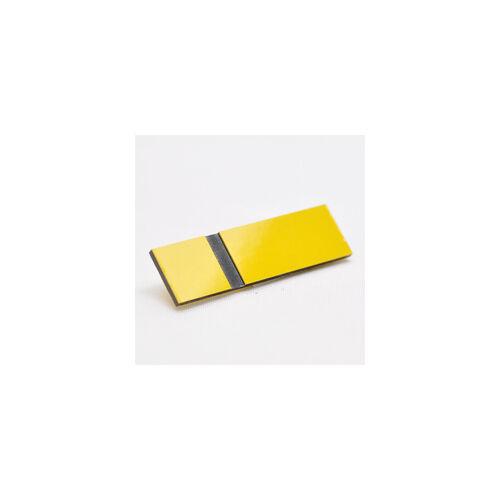 Gravostrat 2,5 mm sárga/ fekete (516) ( Phenolic)
