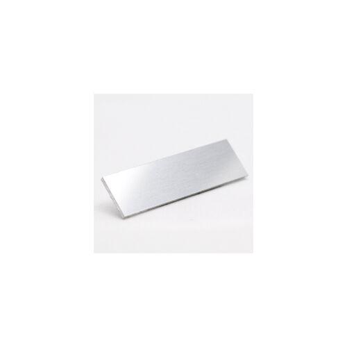 Eloxált natur alu fényes 0,5mm natúr 1000x500mm