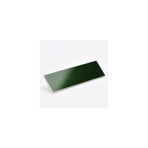 Alutech fényes 1,0mm zöld 1000x500
