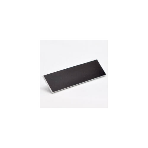 Alutech matt 1,0mm fekete 1000x500