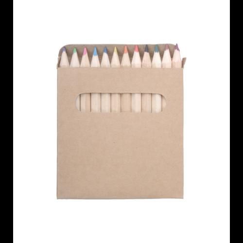 12 db-os színes ceruzakészlet