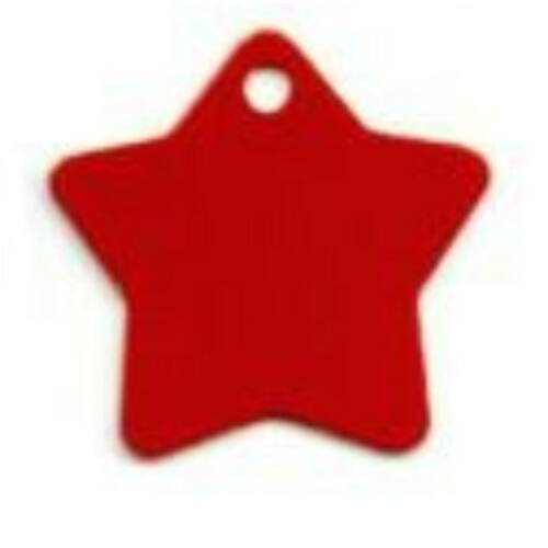 Nagy csillag piros