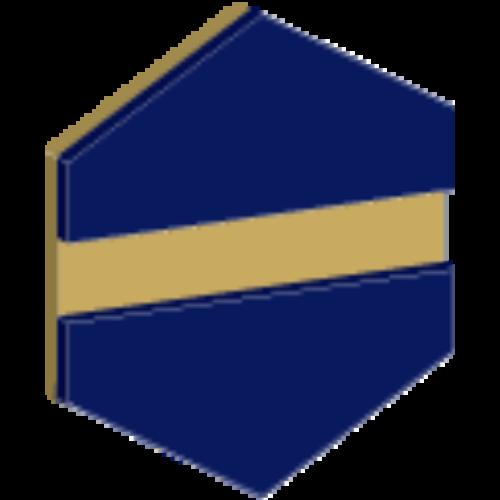 Gravoply Laser 1,6 mm légierő kék / arany (304)