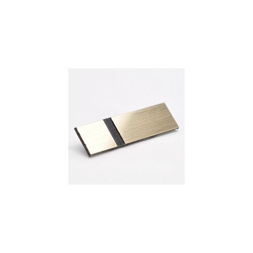 Metallex 2,4 mm fényes arany/ fekete (337)