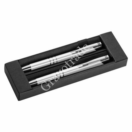 Fém toll és ceruza szett fehér