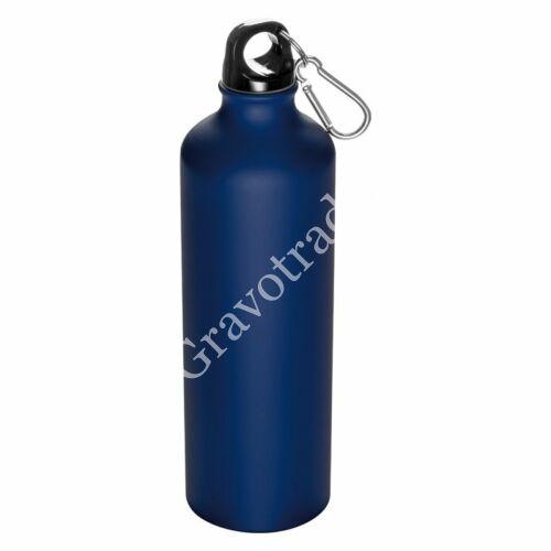 800 ml-es palack karabinerrel, kék