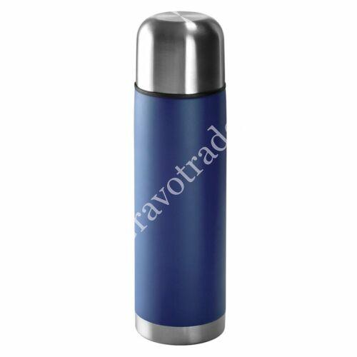 Rozsdamentes acél termosz 0,5 L kék
