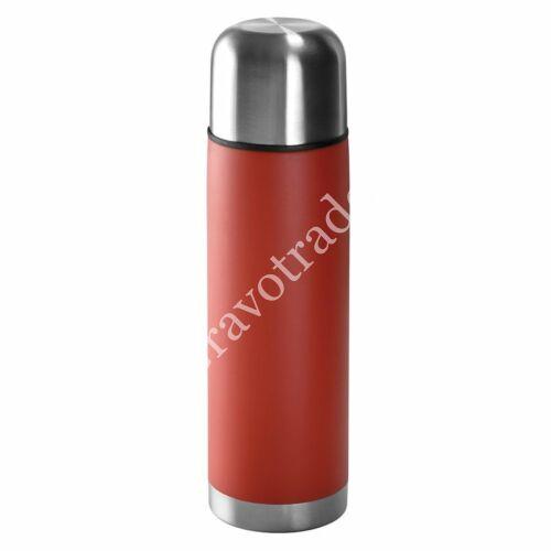 Rozsdamentes acél termosz 0,5 L piros