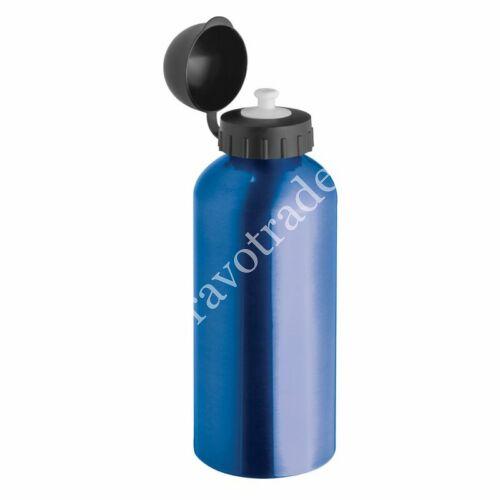 Acél ivópalack, kék 0,6 L