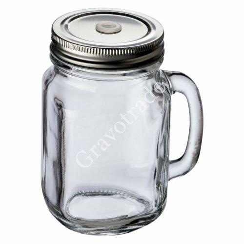 Fém fedeles üvegkorsó 450ml