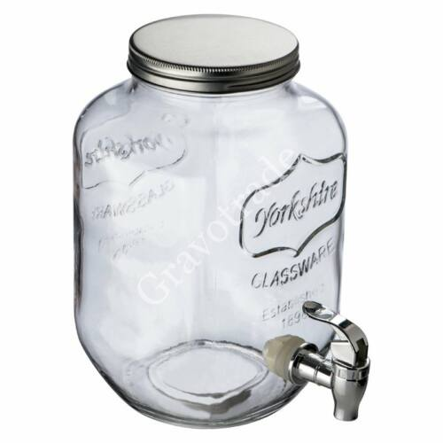 Ital adagoló (4 liter) 4 db üveg korsóval