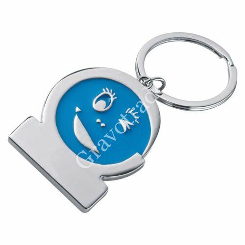 Smile kulcstartó kék