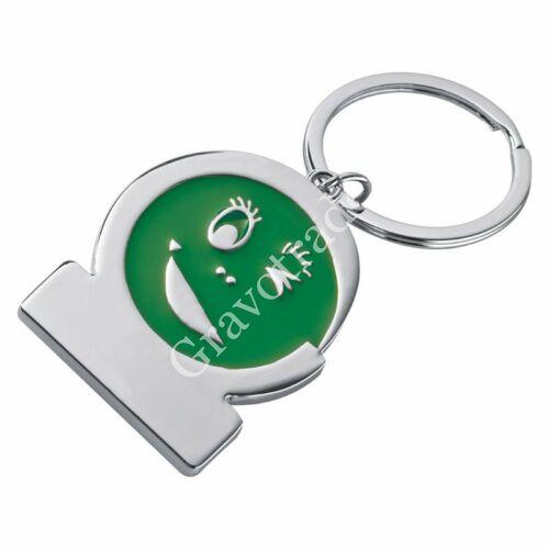 Smile kulcstartó zöld