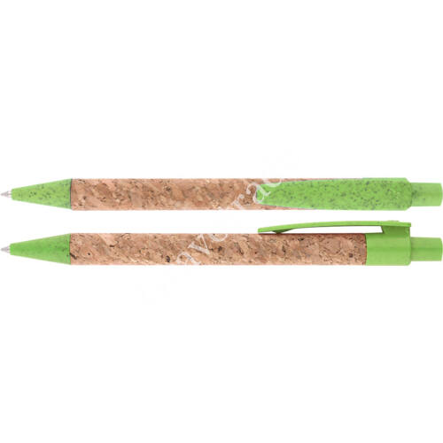 Parafa golyóstoll zöld színben
