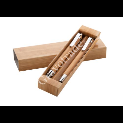 Bambusz toll szett