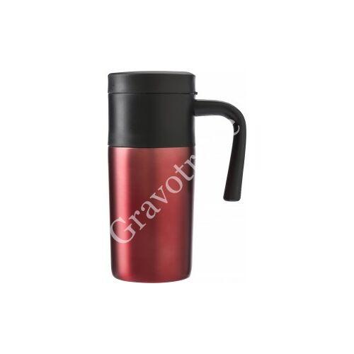 Fedeles termosz bögre piros, 330 ml